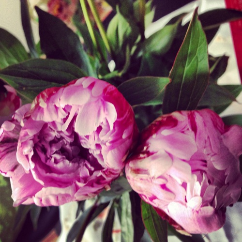 Peonies are a must