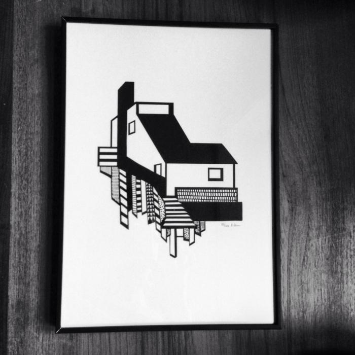 My litography by Kristina Dam